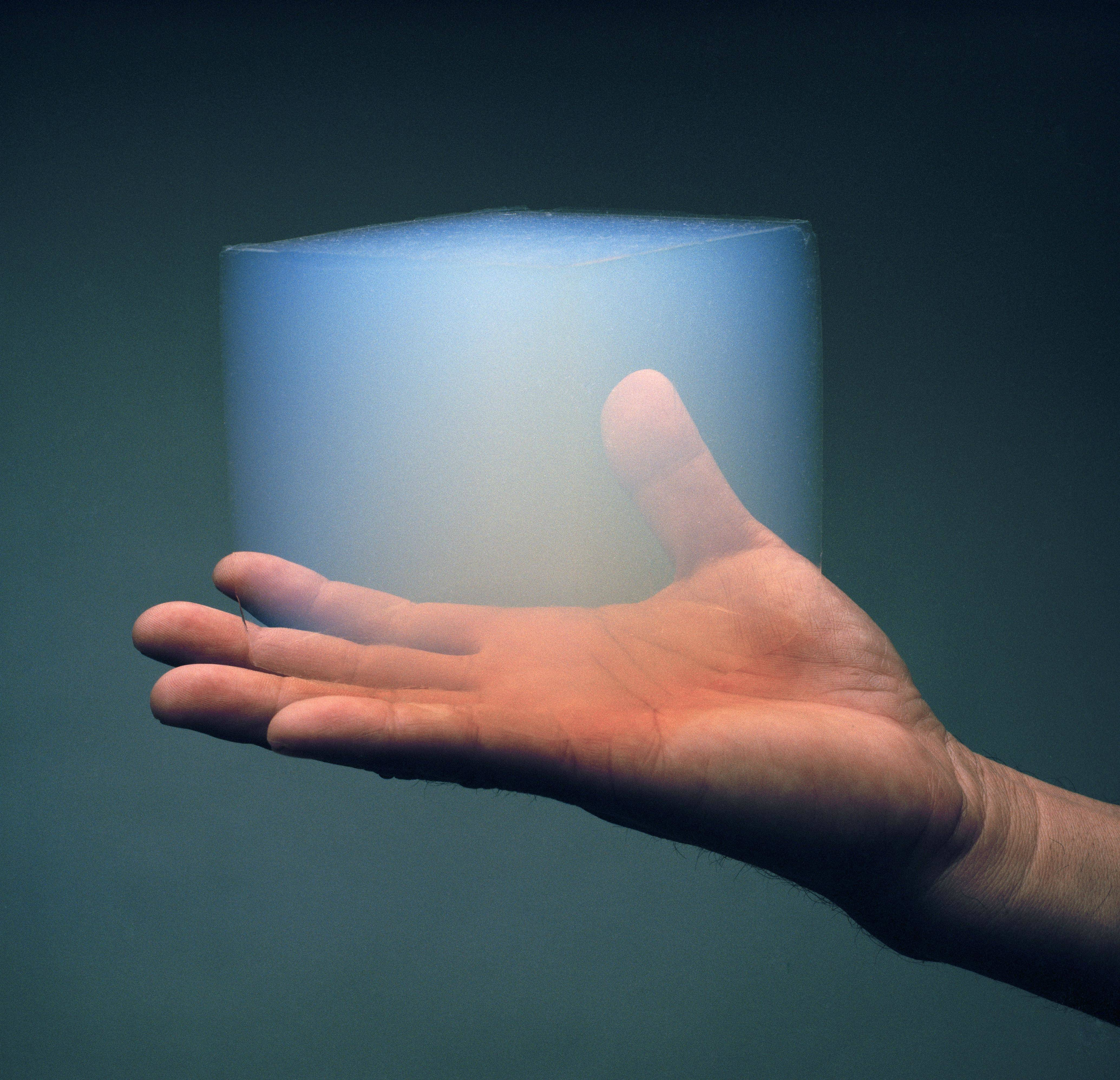 Humans may be able to live on Mars within walls of aerogel – a wonder material that can trap heat and block radiation