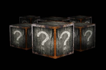 What's inside the mystery box?