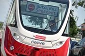 Self-driving Navya bus