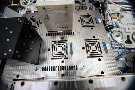 ESA cryptographic ICE cube module