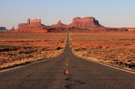 Classic view of Monument Valley, Arizona - Image