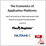 The Economics of Application Platforms