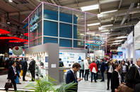 A Cisco trade show booth