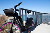 Lyft bike in SF