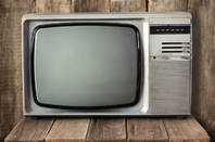 90s era tv set