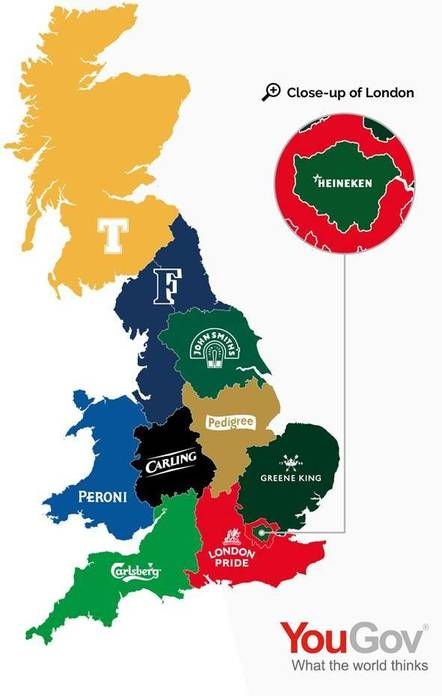 UK's favourite beers