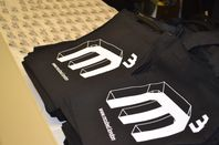 Mcubed logo bags