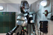 A robot from Battlestar Galactica