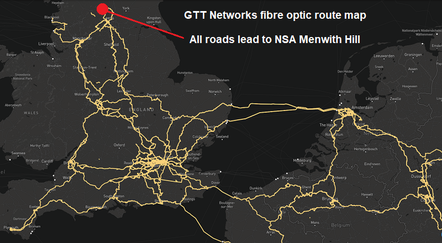 The GTT UK cable network