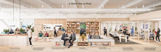 'A better day at work'. Really, Wework?