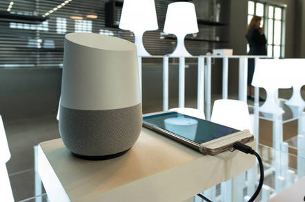 A Google Home device