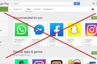 No Play Store for you says Google