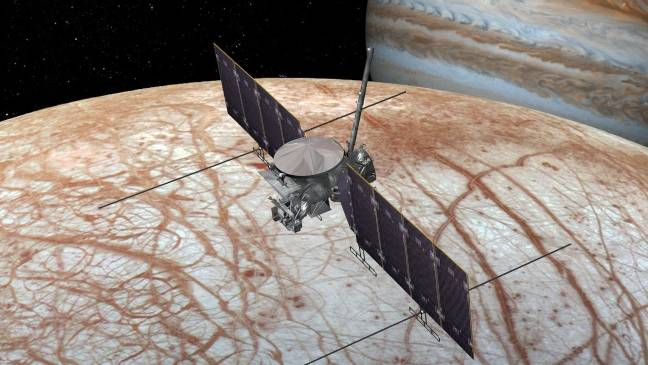 NASA is going to Jupiter's funky moon Europa