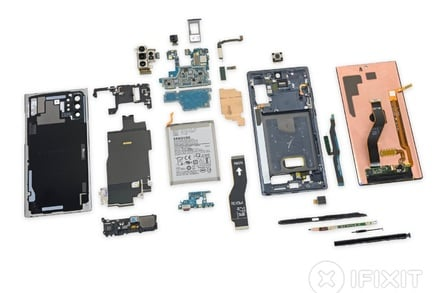 Samsung Note10+ 5G teardown