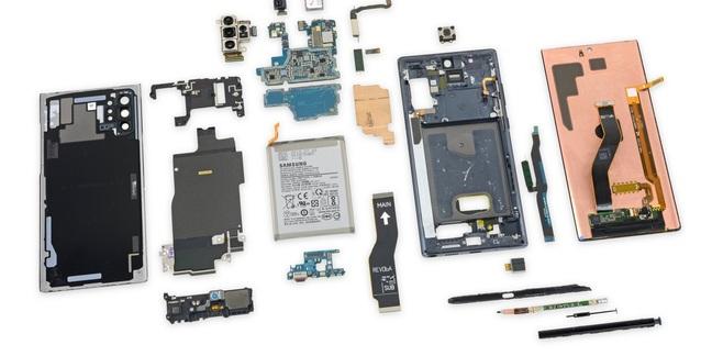 Samsung Note10+ 5G teardown