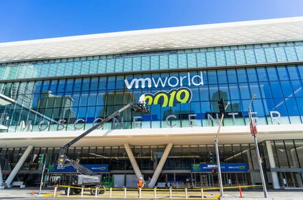 VMworld 2019 event in San Francisco