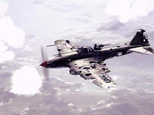 The original Il-2 Shturmovik screenshot before it was photoshopped by Huawei