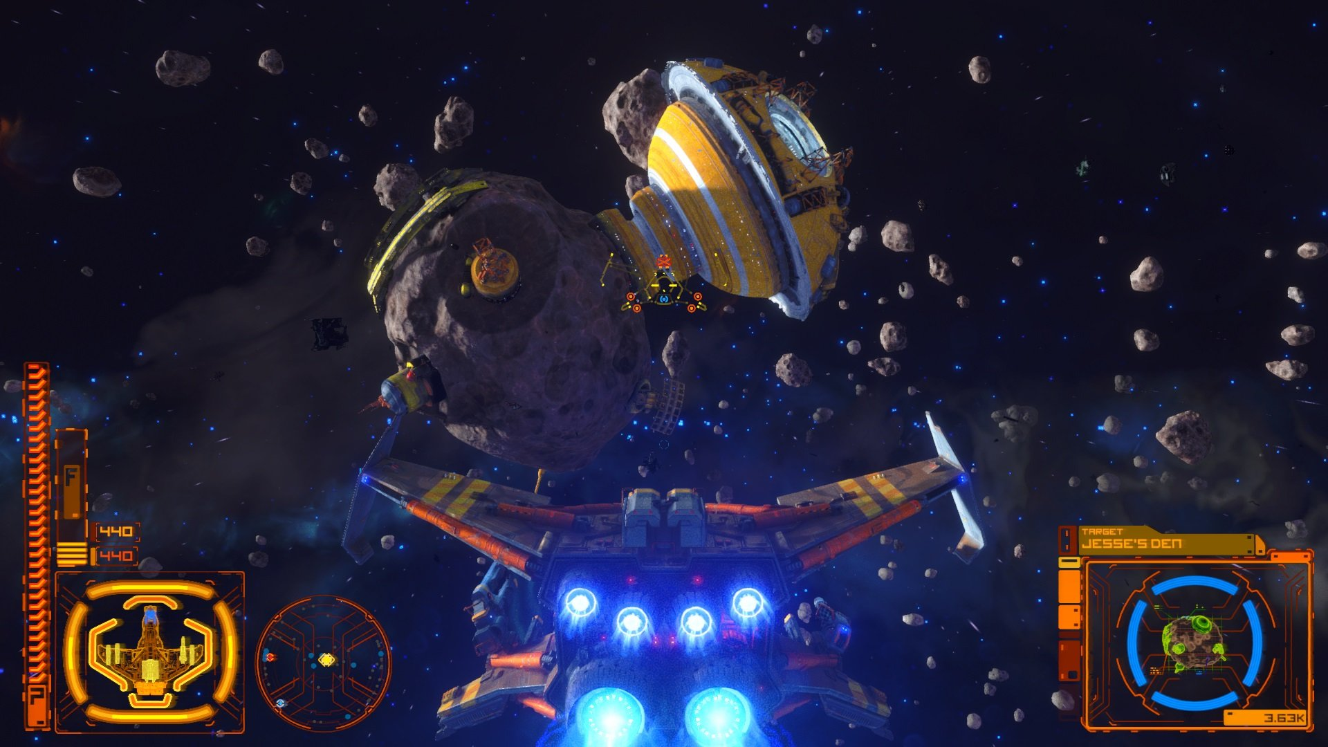 Rebel Galaxy Outlaw: Well, lookie here! For once a space