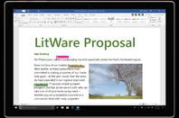 A Word document saved to OneDrive