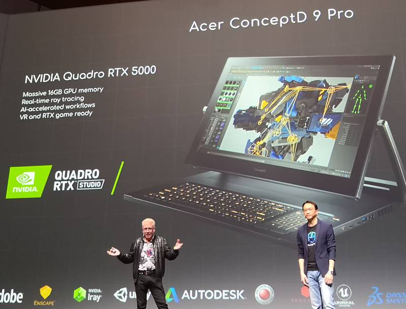 Acer and Asus unveil some of the world's heaviest laptops