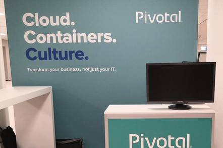 Pivotal at Cloud Foundry Summit in The Hague