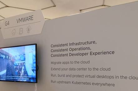 VMware on AWS: the stand at the AWS Transformation Day in London