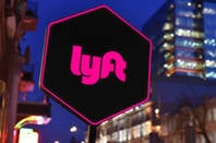 The Lyft logo