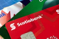 A Scotiabank card