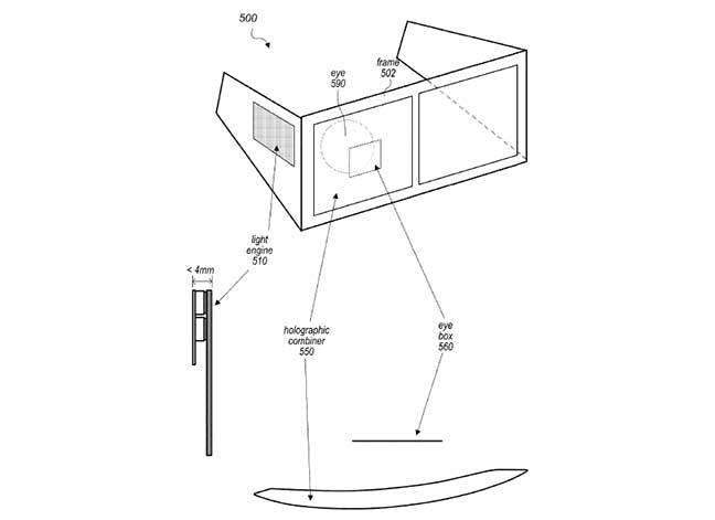 Diagram from Apple patent application