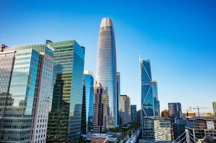 Salesforce Tower in San Francisco