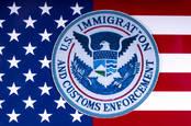 US ICE flag