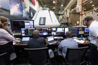 NASA's Orion spacecraft being tested