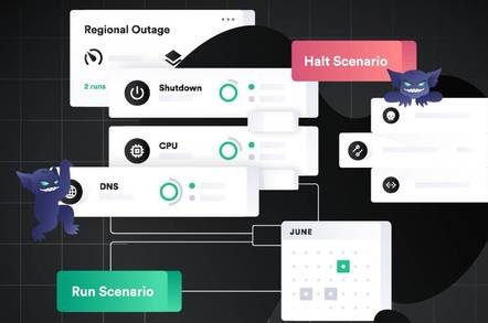 Gremlin Scenarios are templates for simulating major failures