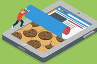 Peeling back a device to find web cookies inside