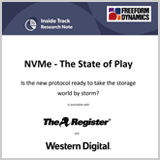 NVMe - The State of Play