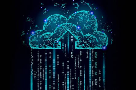 An illustration of the cloud