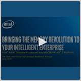 Bringing the memory revolution to your Intelligent Enterprise