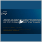 Accelerate and Modernise your SQL Server Deployments with Intel Select Solutions