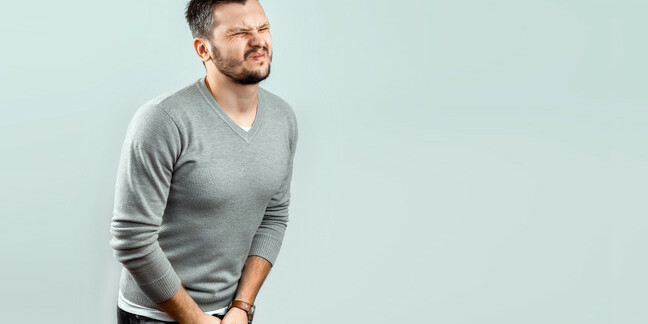 Man feels pain in his groin