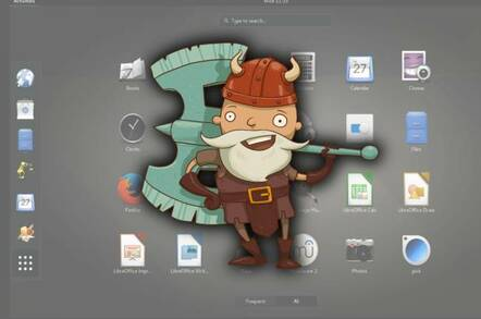 GNOME desktop mismash