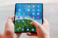 Huawei Fold hands on - pic by Matthew Hughes