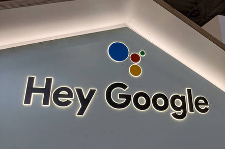 Hey Google sign