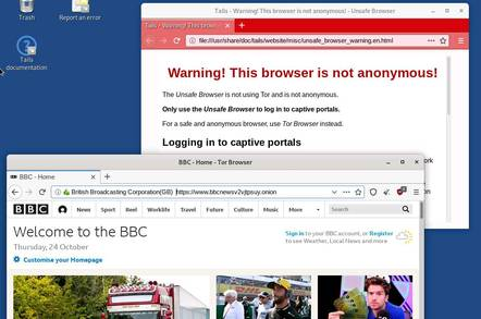 Tails is a Linux distribution aimed at privacy and anonymous browsing
