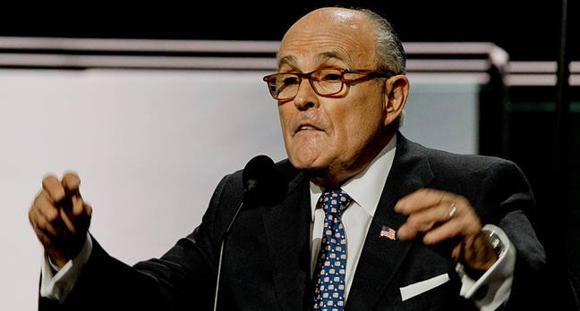 Rudy Giuliani needed an Apple genius to unlock his iPhone