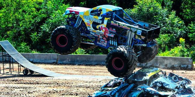 monster trucks in Connecticut