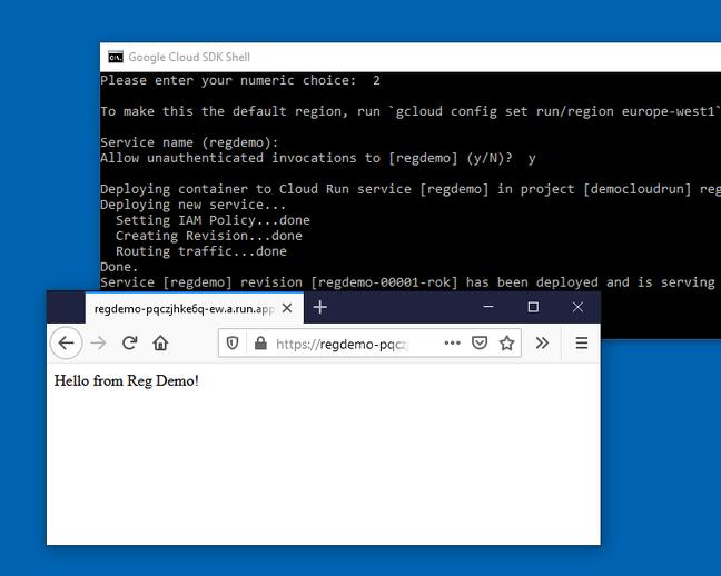 A Hello World Cloud Run project