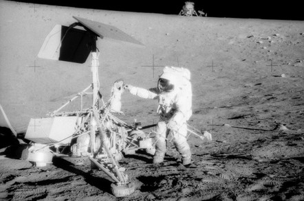 Apollo 12 on the Moon (pic: NASA)