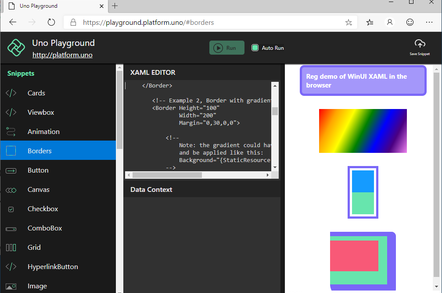 The Windows 10 UI running in the browser via .NET and WebAssembly
