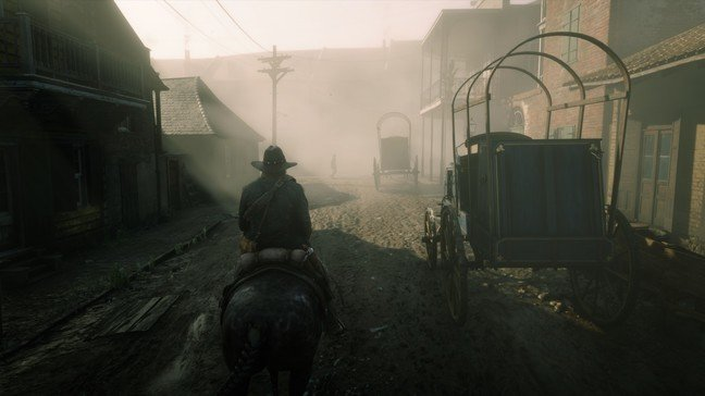 The filthy streets of Saint Denis