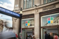microsoft shop in oxford circus